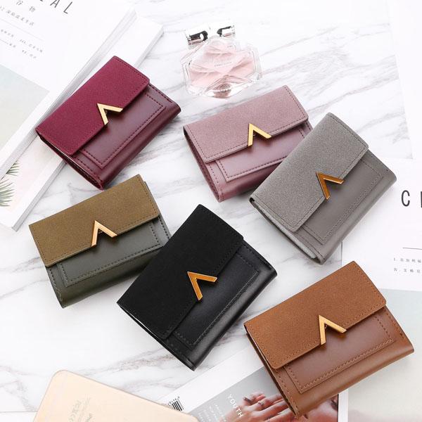 財布 レディース 三つ折り 小銭入れ カードケース