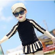 新作 子供服 水着 女の子 長袖 パンツ 2点セット 韓国子供服 キッズ 可愛い
