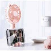 新作 携帯扇風機 手持扇風機 USB扇風機 3段風量調節 静音 小型 USB充電式 熱中症 熱中症対策
