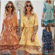 1枚で簡単、楽かわコーデの完成 レディースファッション 春夏 人気 シンプル ワンピース スカート