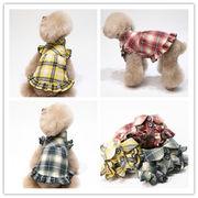 春夏新作★超可愛いペット服★犬服 ワンピース★ワンちゃん服 ドッグウェア ネコ雑貨★犬用のスカート