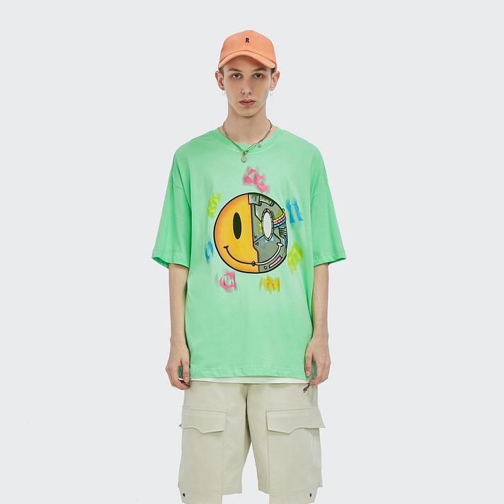 P10208 メンズファッション  半袖Tシャツ 男女兼用 ストリート系トップス 2021新作 春夏★全3色