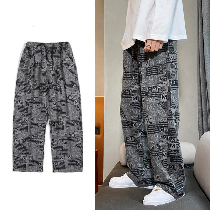 メンズファッション 春新作 韓国スタイル カジュアルパンツ ゆったり パンツ メンズ ボトムス ズボン