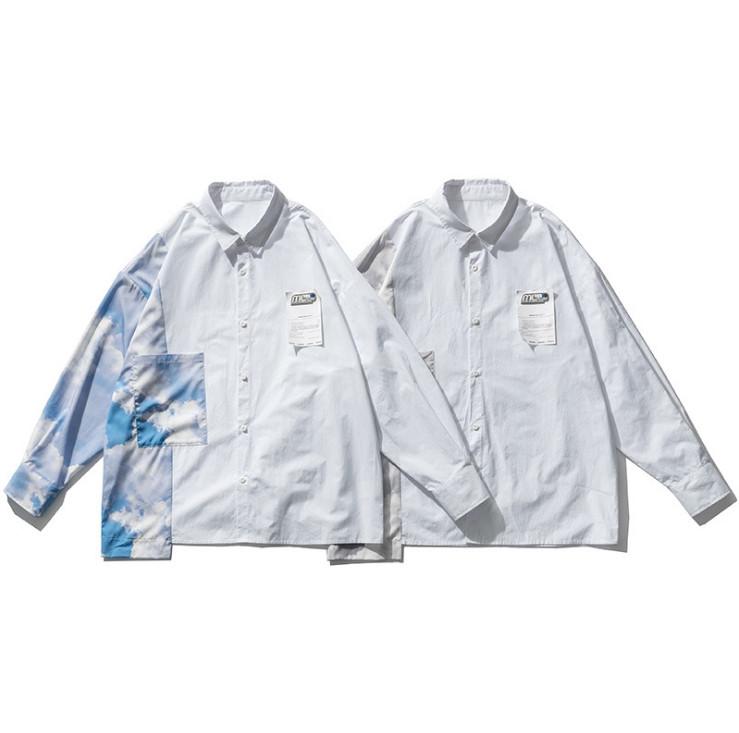 夏 新作 シャツ 上着 ゆったり 韓国ファッション メンズ オーバーサイズ カジュアル メンズ