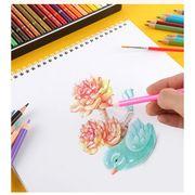36色セット 色鉛筆 カラーペン 水溶性色鉛筆 色えんぴつ 絵の具 アート鉛筆
