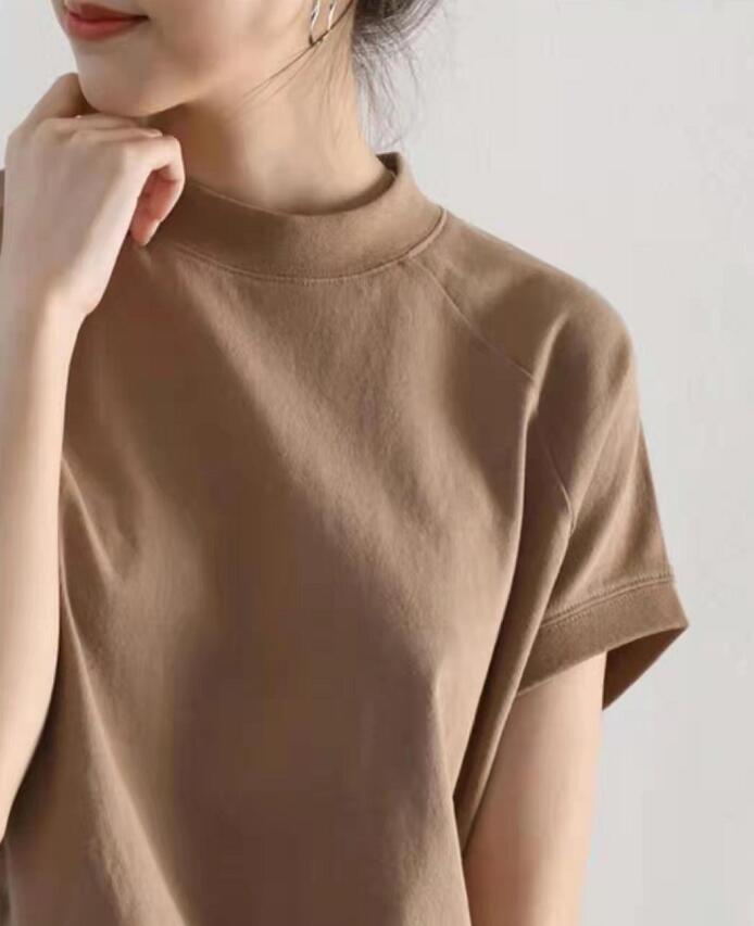 【即納】フレンチラグランTシャツ/レディース/トップスv-tao-857【2020春夏新作】メール便可