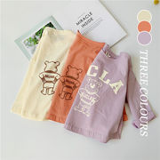 【KID】2021年春夏新作 子供服 英字半袖シャツ 韓国ファッション 可愛い カートゥーン