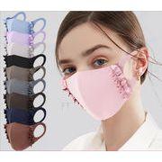 2021夏マスク 接触冷感  クールマスク ★3D 超立体  ★日焼け止め★大人マスク★軽薄