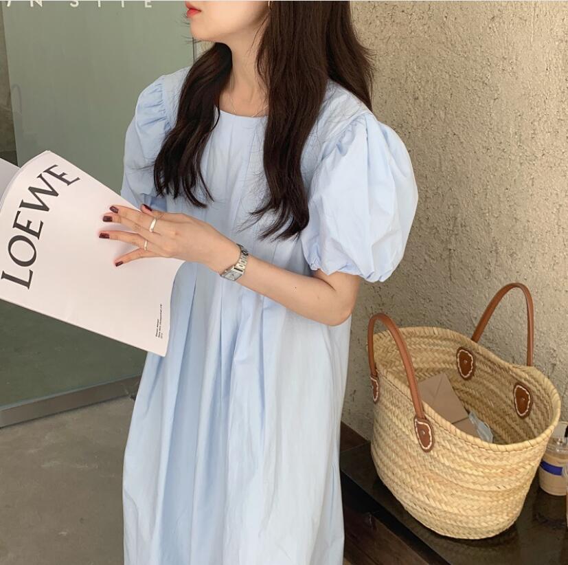 春夏新作ワンピース  レディース トップス ワンピース おしゃれ 体型カバードレス