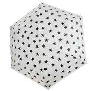 【折り畳み傘】スヌーピー ポーチ入り折りたたみ傘 モノトーンスター