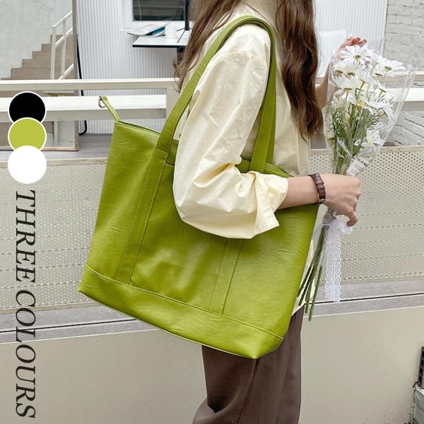 【Women】2021年春夏新作 レディースバッグ ショルダーバッグ 大容量 鞄 全3色