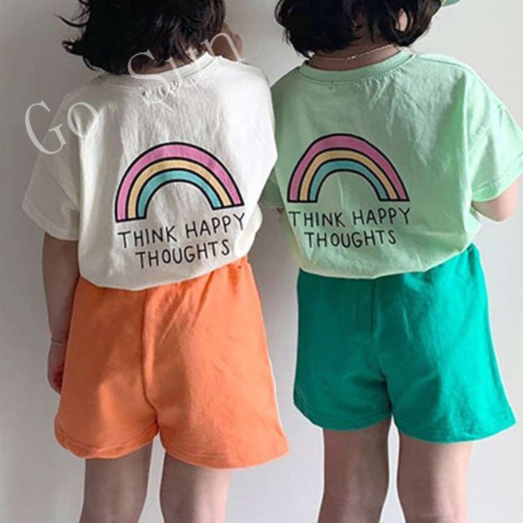 2021年春夏新作★GoSun子供服★トップス ★半袖Tシャツ人気通気性 ★シャツ80-130cm