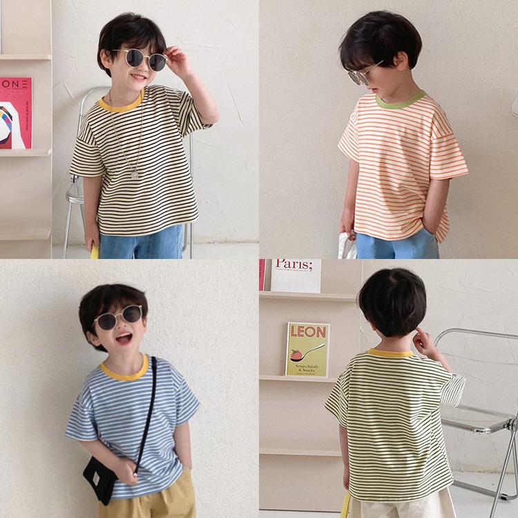 女の子男の子 子供 トップス Tシャツ  可愛いTシャツ 子供服 キッズ服 春夏新作 おしゃれ