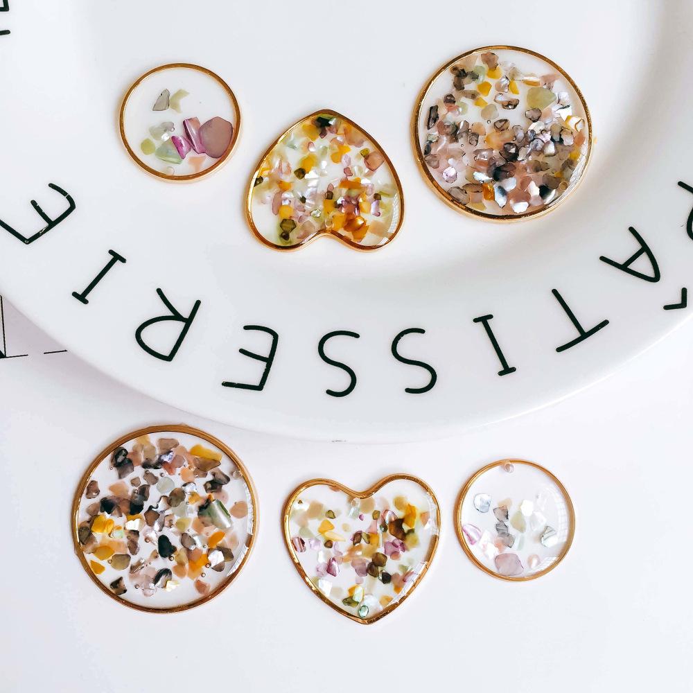 貝殻の欠片入り レジンクラフト シェルフレーク 貝 欠片 かけら チップ 夏 海 アクセサリーパーツ DIY