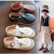 2021夏新作【子供靴】★可愛い靴★キッズ靴★靴★キッズ女の子★サンダル★砂浜★3色★22-31#