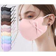 2021夏マスク ★大人クールマスク★洗えるマスク★UVカット★3D 超立体 ★耳紐調整可能 接触冷感  15色