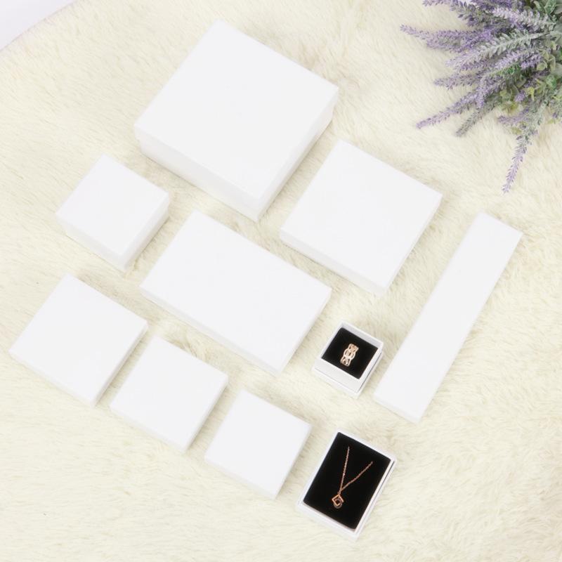 小物入れ ネックレス&指輪&ピアスの紙箱 ギフトボックス 包装ボックス 多種類サイズ