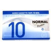 オーディオカセットテープ10分【まとめ買い10点】