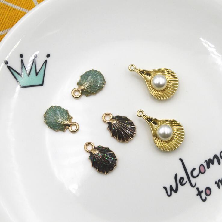 海 マリン 夏 シェルのパーツ アクセサリーパーツ 手作りアクセサリー クラフトパーツ メタルパーツ 貝殻