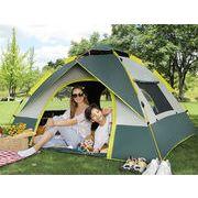 贈り物をする テント アウトドア ポータブル キャンプ 厚手 防雨 全自動 スピードオン カジュアル