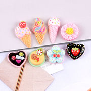 デコパーツ アイスクリーム 土台 DIYパーツ ケーキ 携帯ケース デコケース 手芸 ハンドメイド