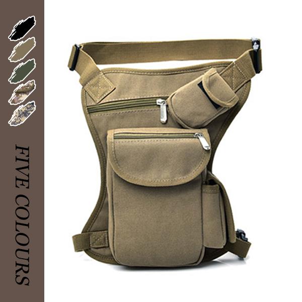 ウエストバッグ ウエストポーチ  メンズ 大容量 登山 厚手 男女兼用 フィッシングバッグ   全4色
