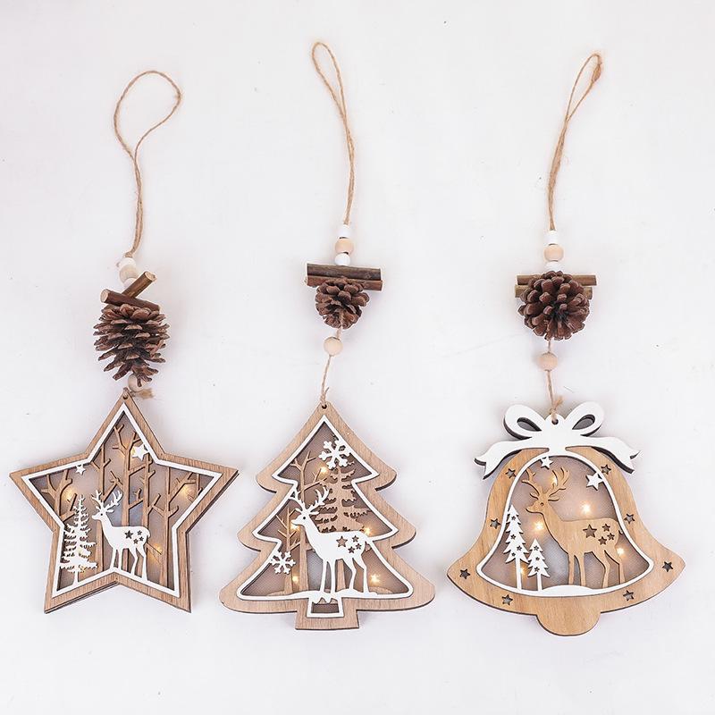 ★Mineka&Christmas★クリスマス雑貨☆クリスマス飾り☆木製☆クリスマスツリー飾り☆