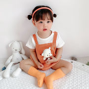 ベビージャンプスーツ2021年夏の新生児用オーバーオール韓国版国産品、登山服、子供服