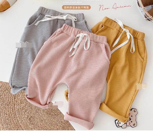 子供服 パンツ ズボン キッズ 幼児 新生児 秋 シンプル かわいい トレンド おしゃれ