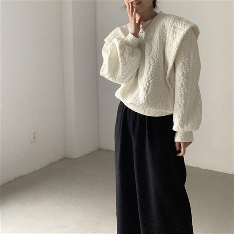 ナチュラルな風合い 韓国ファッション パーカー 長袖 快適である スリム フェイク2ピース 上着