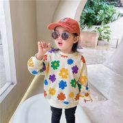 韓国風子供服 韓国ファッション 可愛い トップス 花柄 カラフル おしゃれ
