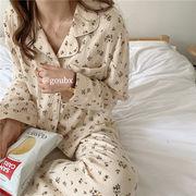 【Women】韓国風レディース服 レディース オシャレ  パジャマ セットアップ