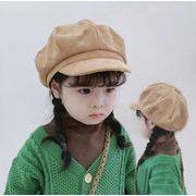 2021秋冬新作★子供用★帽子★男の子 女の子★キッズ★ベレー帽★無地★韓国風★6色