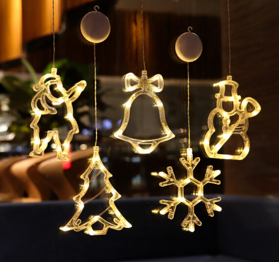 【雑貨】プレゼント クリスマスグッズ クリスマスツリー飾り物 サンタクロース ledライト