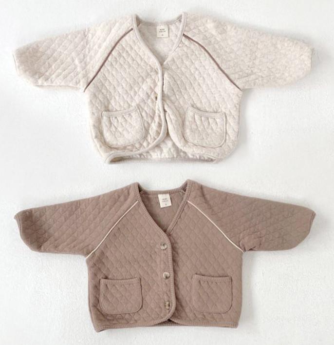 ベビー服 秋冬用 コート 中綿 暖かい おしゃれ 韓国ファッション