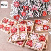 オーナメント 木製チャーム クリスマスグッズ 部屋飾り ツリー飾り 壁飾り クリスマス飾り