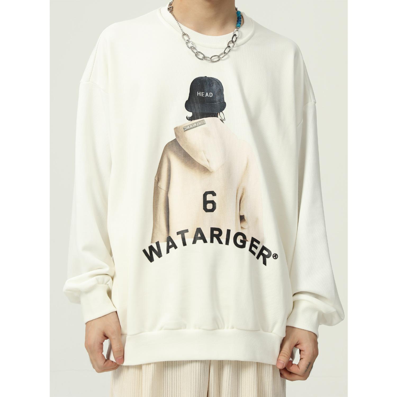 【2021秋冬新作】韓国風 カジュアル 大きいサイズ メンズ  インスタ風 Tシャツ