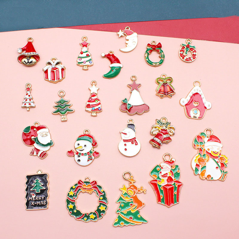 クリスマス オーナメント クリスマスチャーム クリスマスパーツ アクセサリーパーツ ハンドメイド 金属